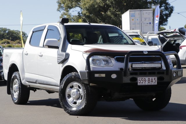 Used Holden Colorado RG MY16 LS Crew Cab Toowoomba, 2016 Holden Colorado RG MY16 LS Crew Cab White 6 Speed Manual Cab Chassis