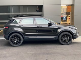 2016 Land Rover Range Rover Evoque L538 MY16.5 SE Black 9 Speed Sports Automatic Wagon.