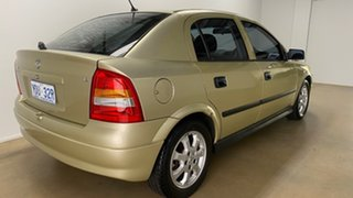 2005 Holden Astra TS Classic Gold 4 Speed Automatic Hatchback.