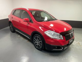 2014 Suzuki S-Cross JY GLX Red 7 Speed Constant Variable Hatchback.