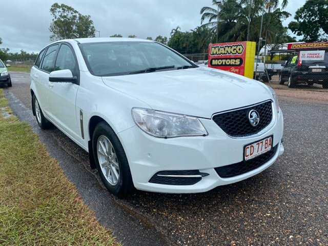 Used Holden Commodore VF MY14 Evoke Sportwagon Pinelands, 2013 Holden Commodore VF MY14 Evoke Sportwagon White 6 Speed Sports Automatic Wagon