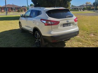 2016 Nissan Qashqai J11 TI White Continuous Variable Wagon