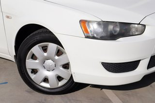 2007 Mitsubishi Lancer CJ MY08 ES White 5 Speed Manual Sedan