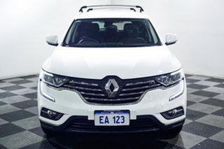 2016 Renault Koleos HZG Life X-tronic White 1 Speed Constant Variable Wagon.