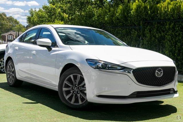 New Mazda 6 GL1033 Sport SKYACTIV-Drive Waitara, 2021 Mazda 6 GL1033 Sport SKYACTIV-Drive White 6 Speed Sports Automatic Sedan