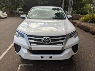 2018 Toyota Fortuner GUN156R GX White 6 Speed Automatic Wagon.