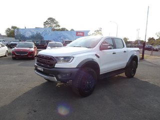2018 Ford Ranger PX MkIII 2019.00MY Raptor White 10 Speed Automatic Utility.