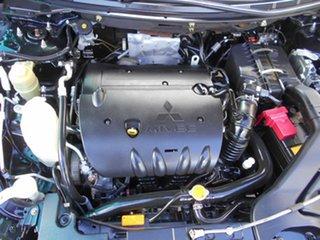 2008 Mitsubishi Lancer CJ MY09 ES Sportback Black 6 Speed Constant Variable Hatchback