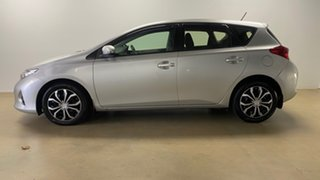 2012 Toyota Corolla ZRE182R Ascent Silver 7 Speed CVT Auto Sequential Hatchback