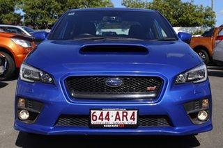 2015 Subaru WRX V1 MY15 STI AWD Blue 6 Speed Manual Sedan.