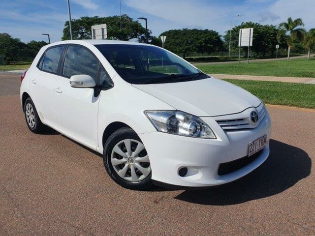Used Toyota Corolla ZRE152R MY10 Ascent Townsville, 2010 Toyota Corolla ZRE152R MY10 Ascent White 4 Speed Automatic Hatchback