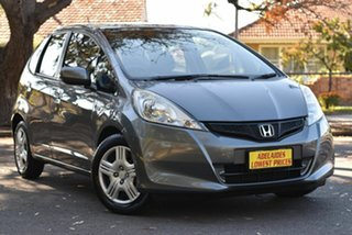 2012 Honda Jazz GE MY12 GLi Grey 5 Speed Manual Hatchback.