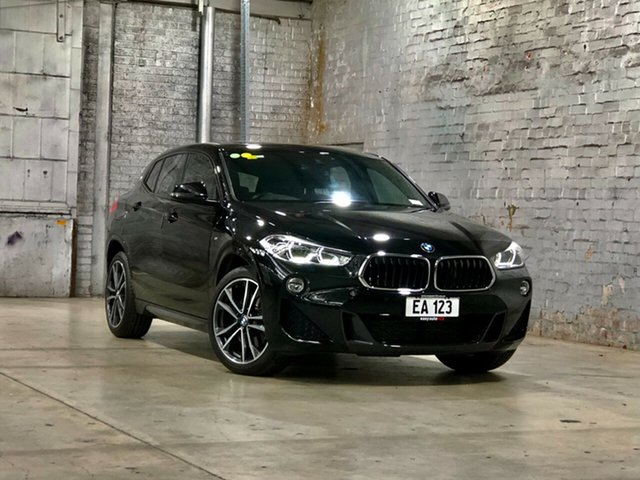 Used BMW X2 F39 sDrive20i Coupe DCT Steptronic M Sport Mile End South, 2018 BMW X2 F39 sDrive20i Coupe DCT Steptronic M Sport Black 7 Speed Sports Automatic Dual Clutch