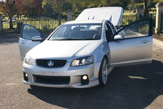 2010 Holden Commodore VE II SV6 Silver 6 Speed Manual Utility