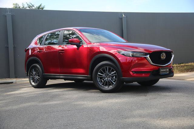 Demo Mazda CX-5 KF2W7A Maxx SKYACTIV-Drive FWD Sport Hindmarsh, 2021 Mazda CX-5 KF2W7A Maxx SKYACTIV-Drive FWD Sport Soul Red Crystal 6 Speed Sports Automatic Wagon