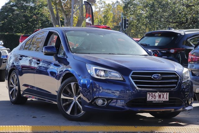 Used Subaru Liberty B6 MY16 2.5i CVT AWD Toowoomba, 2016 Subaru Liberty B6 MY16 2.5i CVT AWD Blue 6 Speed Constant Variable Sedan