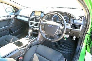 2008 Ford Falcon FG XR6 Green 5 Speed Automatic Sedan