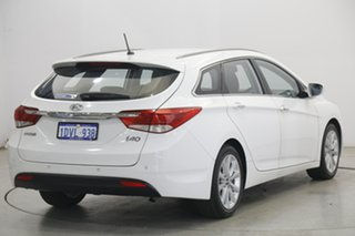 2012 Hyundai i40 VF Elite Tourer White 6 Speed Sports Automatic Wagon