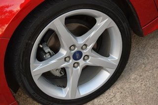 2013 Ford Focus LW MkII Titanium PwrShift Red/Black 6 Speed Sports Automatic Dual Clutch Hatchback
