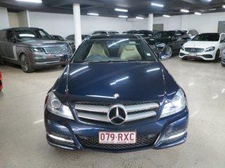 2011 Mercedes-Benz C-Class C204 C250 CDI BlueEFFICIENCY 7G-Tronic Blue 7 Speed Sports Automatic.