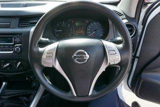 2017 Nissan Navara D23 S3 RX King Cab White 6 Speed Manual Utility