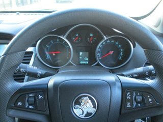 2012 Holden Cruze JH Series II MY12 CD Dark Green 6 Speed Sports Automatic Hatchback