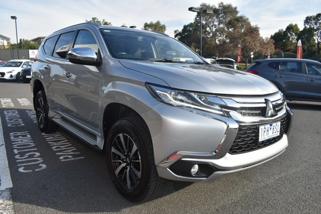Used Mitsubishi Pajero Sport QE MY19 GLS Wantirna South, 2018 Mitsubishi Pajero Sport QE MY19 GLS Silver 8 Speed Sports Automatic Wagon