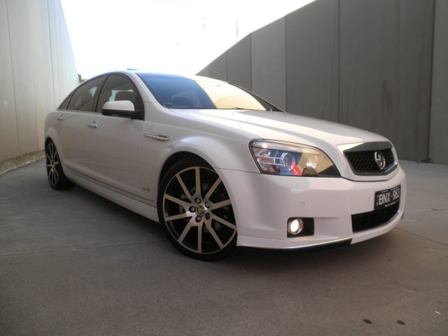 Used Holden Caprice WM II V Cheltenham, 2011 Holden Caprice WM II V White Hot Pearl 6 Speed Sports Automatic Sedan