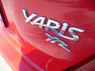 2013 Toyota Yaris NCP130R YR Red 5 Speed Manual Hatchback