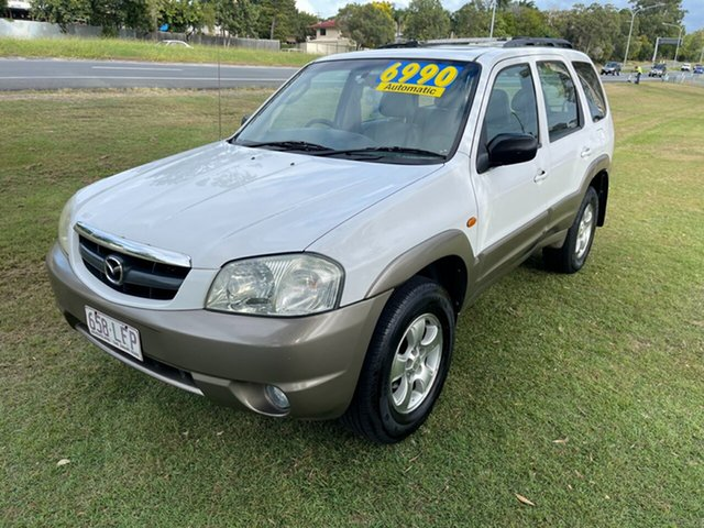 Used Mazda Tribute Luxury Clontarf, 2002 Mazda Tribute Luxury White 4 Speed Automatic Wagon
