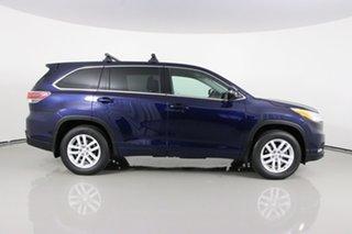 2015 Toyota Kluger GSU55R GX (4x4) Blue 6 Speed Automatic Wagon