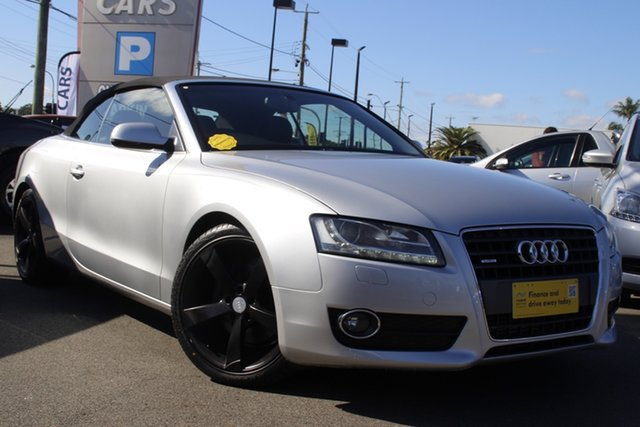 Used Audi A5 8T MY10 S Tronic Quattro Mount Gravatt, 2009 Audi A5 8T MY10 S Tronic Quattro Silver 7 Speed Sports Automatic Dual Clutch Coupe