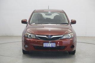 2011 Subaru Impreza G4 MY12 2.0i Lineartronic AWD Red 6 Speed Constant Variable Sedan.