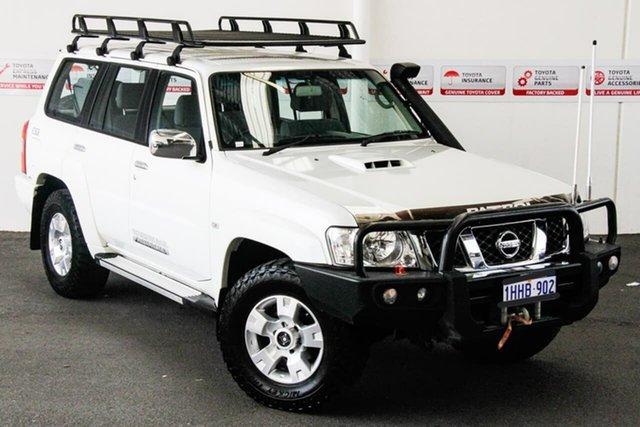 Pre-Owned Nissan Patrol GU Series 9 ST N-Trek Myaree, 2015 Nissan Patrol GU Series 9 ST N-Trek White 5 Speed Manual Wagon
