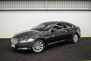 2013 Jaguar XF X250 MY13 Luxury Black 8 Speed Sports Automatic Sedan.
