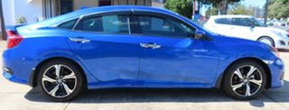 2016 Honda Civic MY16 RS Blue Continuous Variable Sedan