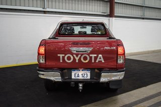 2017 Toyota Hilux GUN126R SR Double Cab Red 6 Speed Sports Automatic Utility