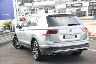 2020 Volkswagen Tiguan 5N MY21 162TSI Highline DSG 4MOTION Allspace Pyrit Silver Metallic 7 Speed.