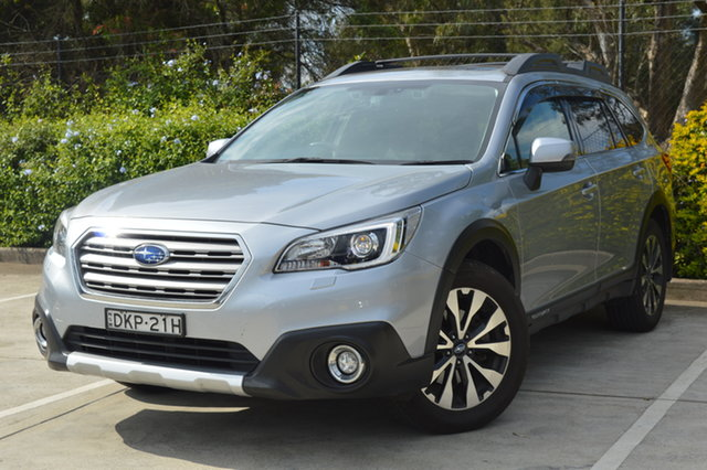 Used Subaru Outback B6A MY16 2.5i CVT AWD Premium Maitland, 2016 Subaru Outback B6A MY16 2.5i CVT AWD Premium Silver, Chrome 6 Speed Constant Variable Wagon