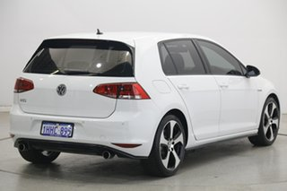 2015 Volkswagen Golf VII MY15 GTi White 6 Speed Manual Hatchback