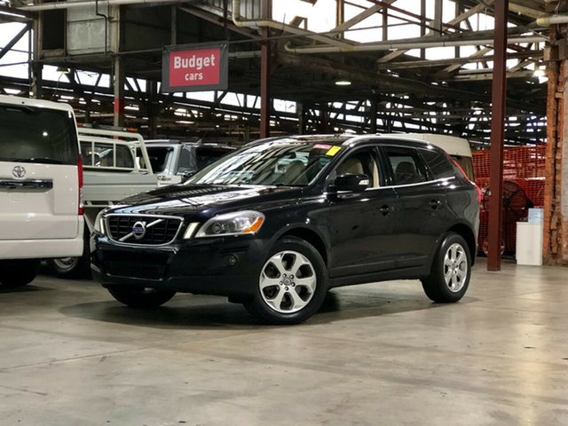 Used Volvo XC60 DZ MY09 T6 Geartronic AWD Mile End South, 2009 Volvo XC60 DZ MY09 T6 Geartronic AWD Black 6 Speed Sports Automatic Wagon