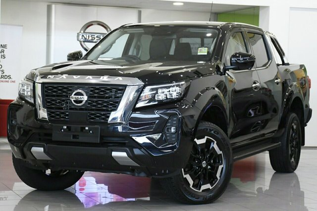 New Nissan Navara D23 MY21 ST-X St Marys, 2021 Nissan Navara D23 MY21 ST-X Cosmic Black 7 Speed Sports Automatic Utility