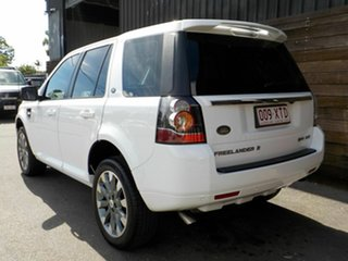 2013 Land Rover Freelander 2 LF MY14 SD4 CommandShift HSE White 6 Speed Sports Automatic Wagon