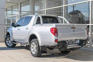 2013 Mitsubishi Triton MN MY13 GLX-R Double Cab Silver 5 Speed Manual Utility