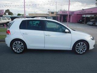 2009 Volkswagen Golf VI 103TDI COMFO TDI White 6 Speed Automatic Hatchback.
