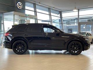 2021 Volkswagen Touareg CR MY21 210TDI Tiptronic 4MOTION Wolfsburg Edition Black 8 Speed.