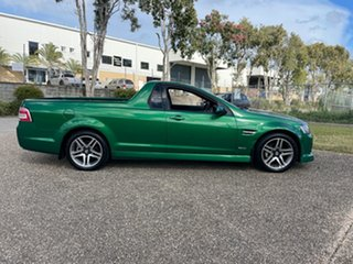 2010 Holden Commodore VE II SV6 Green Automatic Utility.