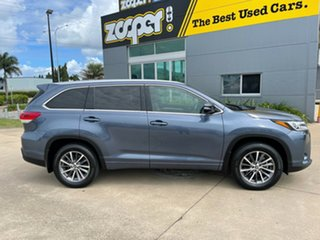 2019 Toyota Kluger GSU50R GXL 2WD Blue/061119 8 Speed Sports Automatic Wagon.