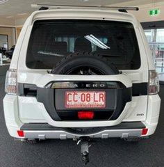 2015 Mitsubishi Pajero NX MY15 GLX White 5 Speed Manual Wagon