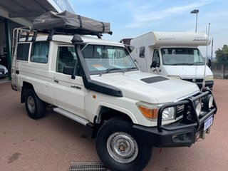 2011 Troopcarrier Toyota Landcruiser White Motor Camper.